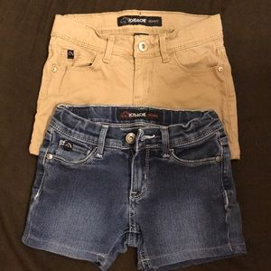 Jordache girls shorts bundle